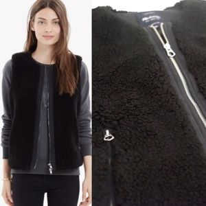 Madewell Black Vest Size Small